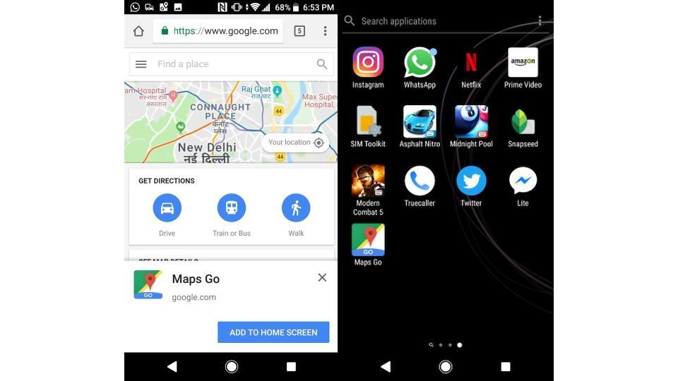 Here's how to install and run Maps Go right away.