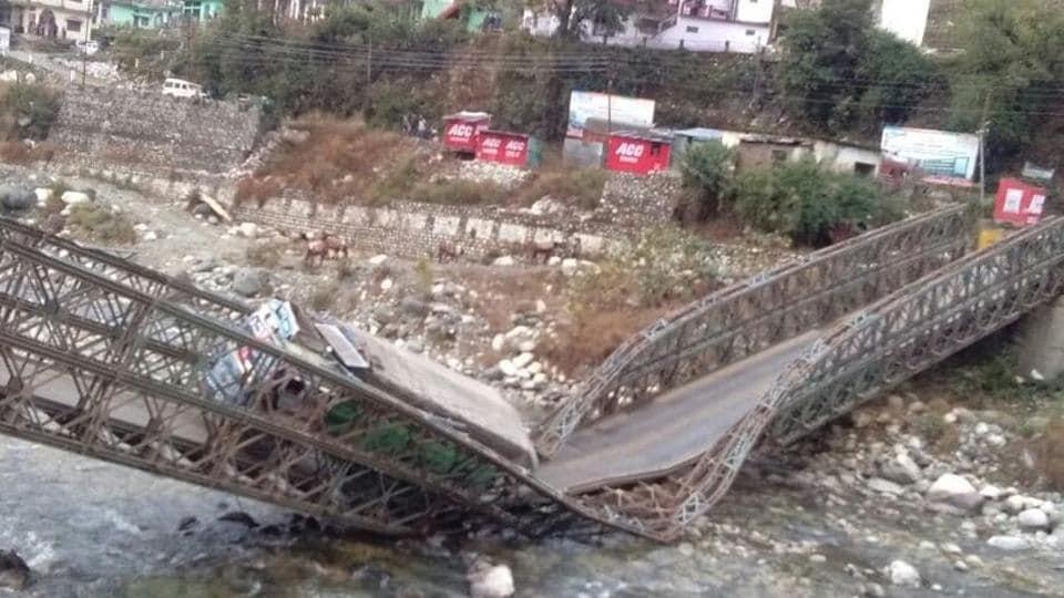 Bridge,Uttarkashi bridge,China border