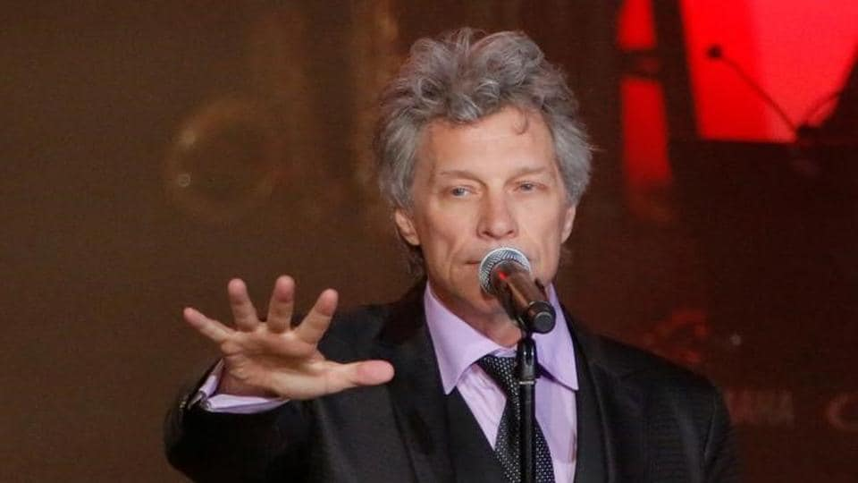 Jon Bon Jovi and his band will be inducted into the Rock & Roll Hall of Fame in Cleaveland, Ohio.