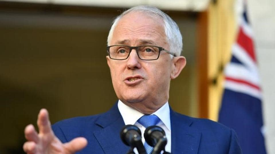 """Australian Prime Minister Malcolm Turnbull said foreign powers were making attempts to influence the political process"""" in Australia. (REUTERS)"""