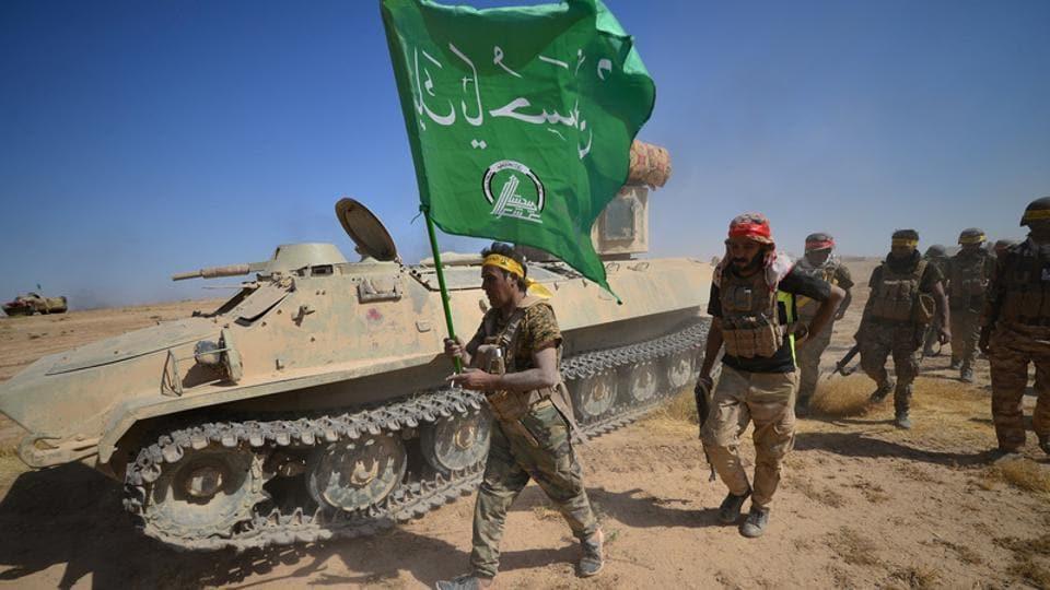 Iraq,Shia paramilitary forces,Iran-backed Badr Organisation