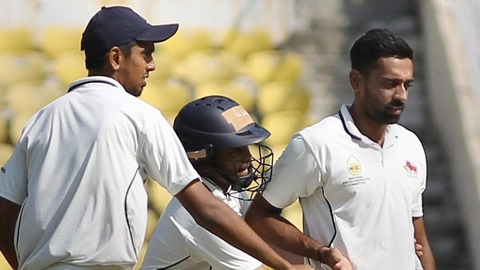 Holkar Stadium,Board of Control for Cricket in India,2017–18 Ranji Trophy