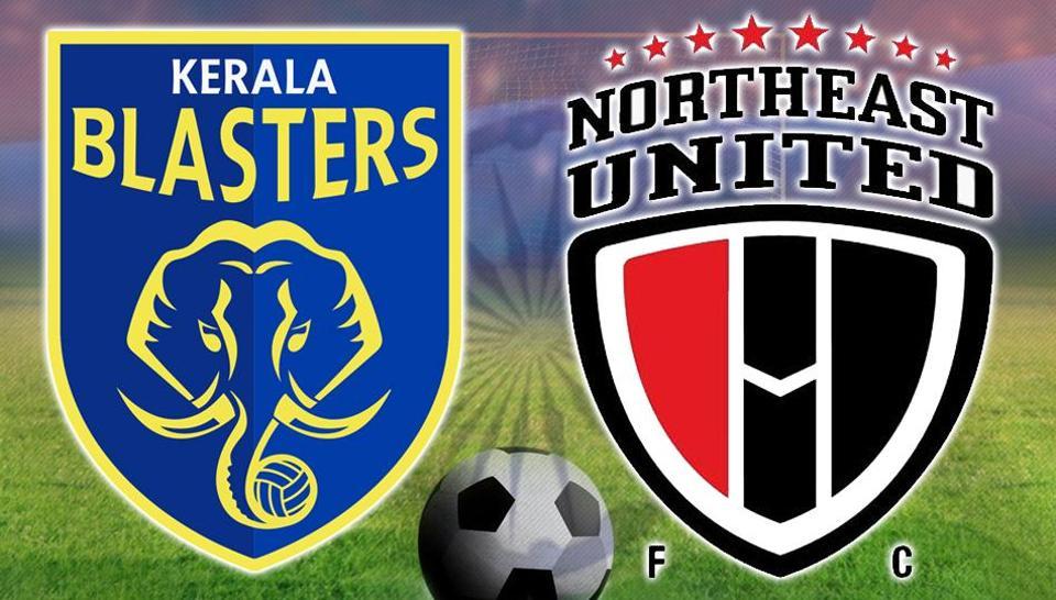 Indian Super League,Indian Super League Live,Kerala Blasters FC vs NorthEast United FC