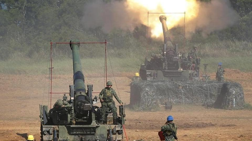 The M777 ultra-light American howitzer was firing Indian ammunition in Rajasthan's Pokhran ranges.