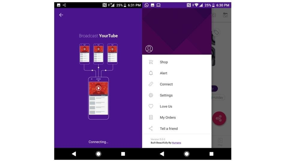 VuLiv Player,YourTube,Files Sharing Apps