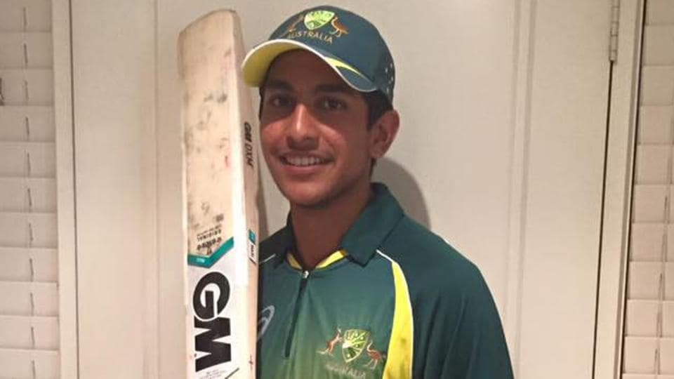 Austin Waugh, son of Steve, in Australia's U-19 World Cup squad