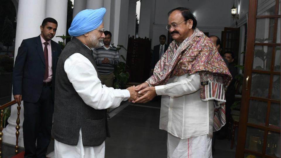 Manmohan Singh,Venkaiah Naidu,Congress