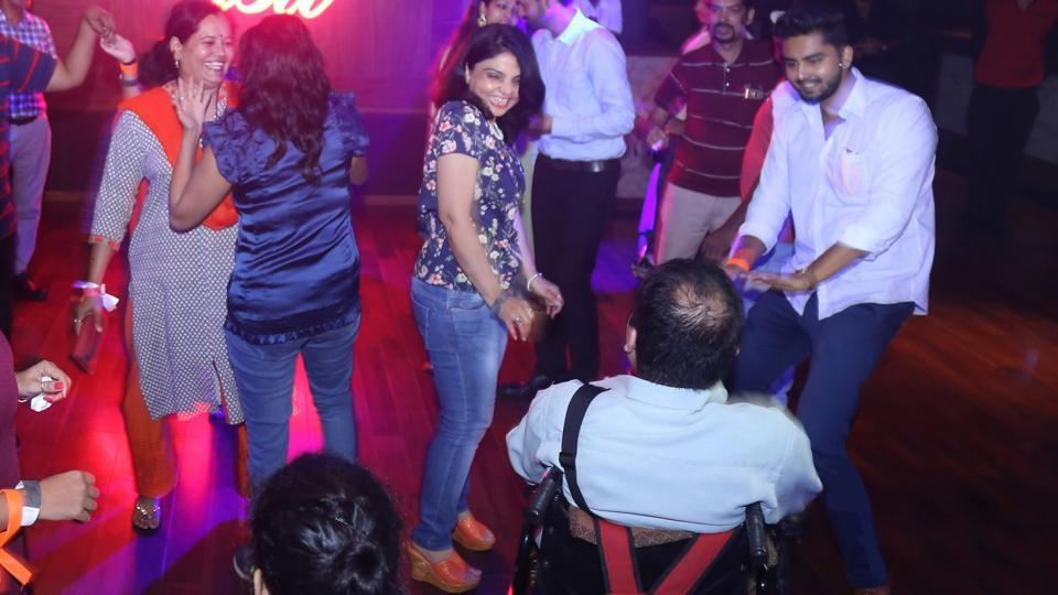 A similar event was organised for the differently abled in New Delhi recently.