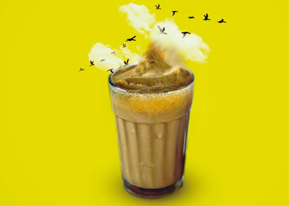 Kitabkhana,Café Irani Chaii,Chai-time