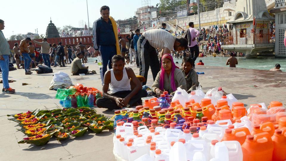 Uttarakhand,Ganga,plastic