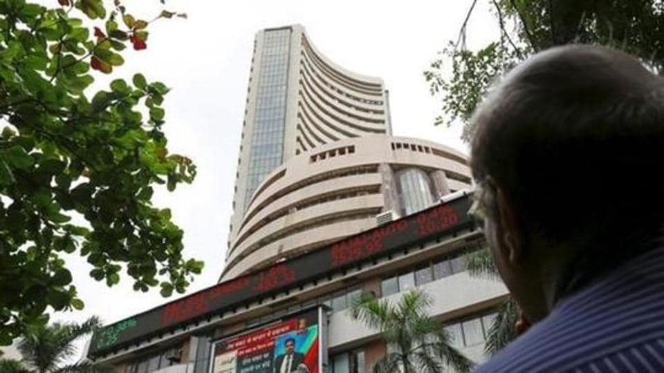 Sensex steadies after early excitement from exit polls