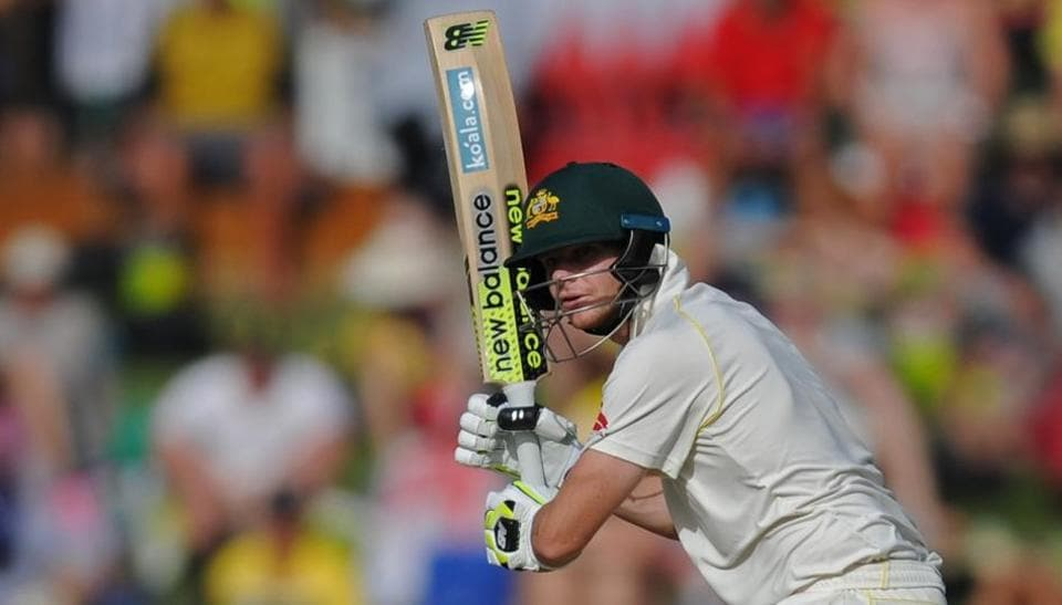 Australia captain Steve Smith plays a shot during the third Ashes Test against England. Get full cricket score of third Ashes Test between Australia vs England, Day 3 here.