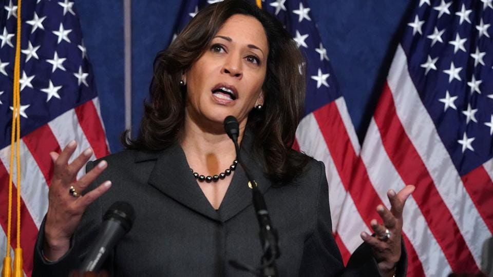Kamala Harris,Indian American senator,Donald Trump