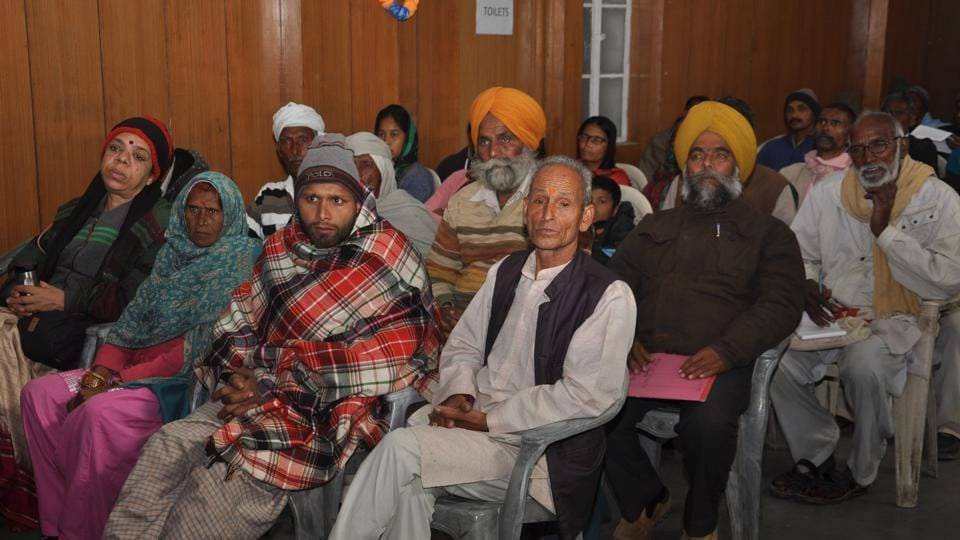Forest dwellers attend the release of a fact-find report in Dehradun on Friday.