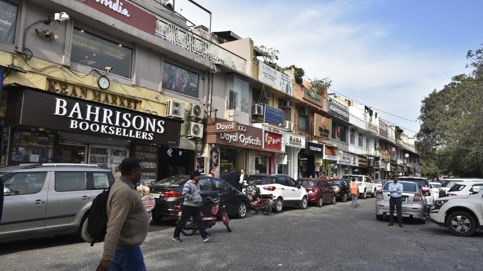Khan Market,Police at Khan Market,Bomb at Khan Market