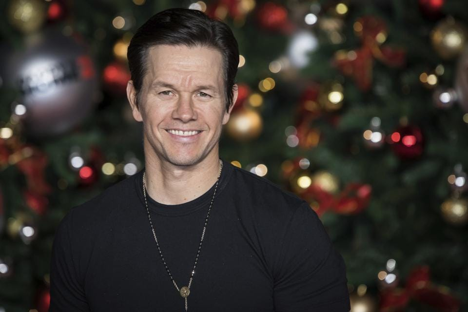 Mark Wahlberg poses for photographers upon arrival at the premiere of the film Daddys Home 2.