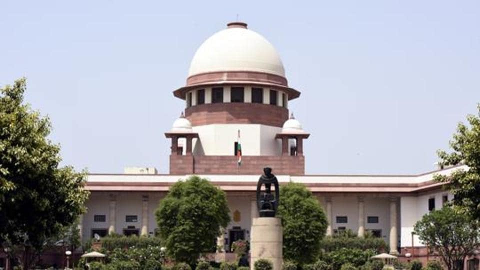 A View of Supreme court in New Delhi, India on Thursday, April 27, 2017.