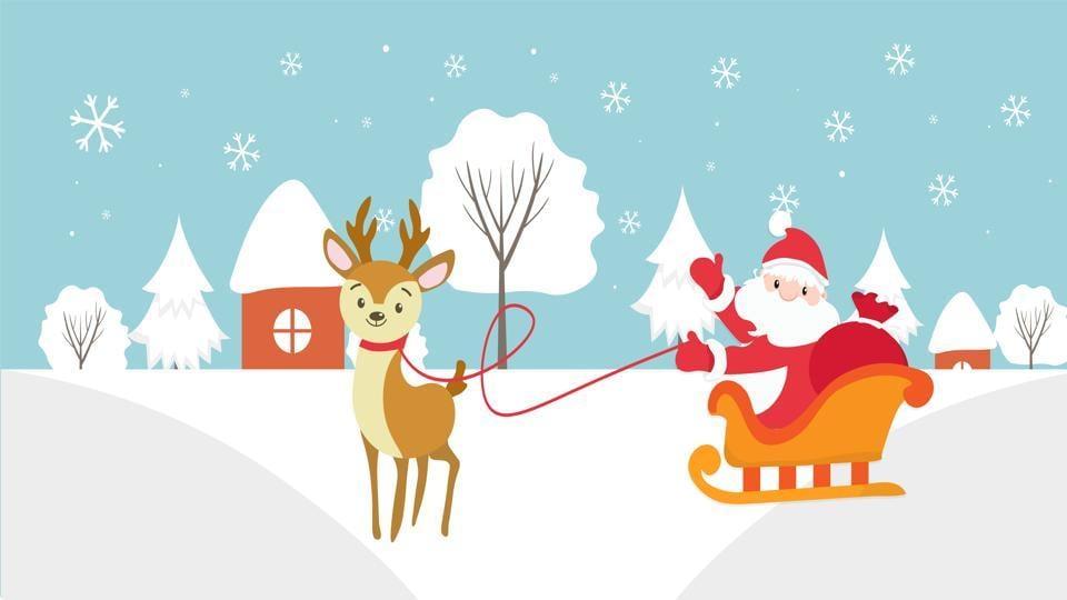 Santa Claus,Christmas,Remote Alaska