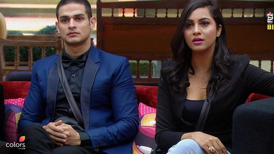 Priyank and Arshi discuss with Salman.