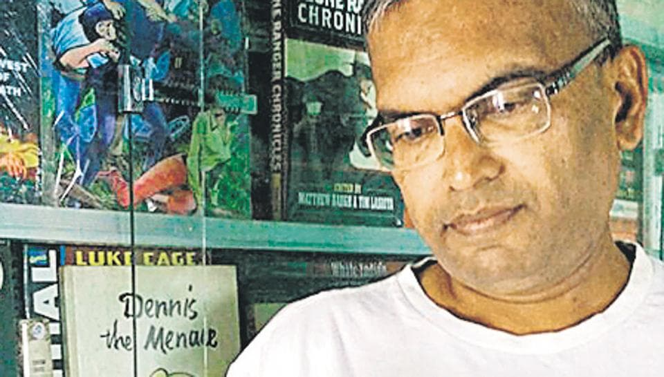 At the time Vineeth Abraham began reading, there weren't that many comics to begin with, except for Indrajaal and occasionally, Amar Chitra Katha.