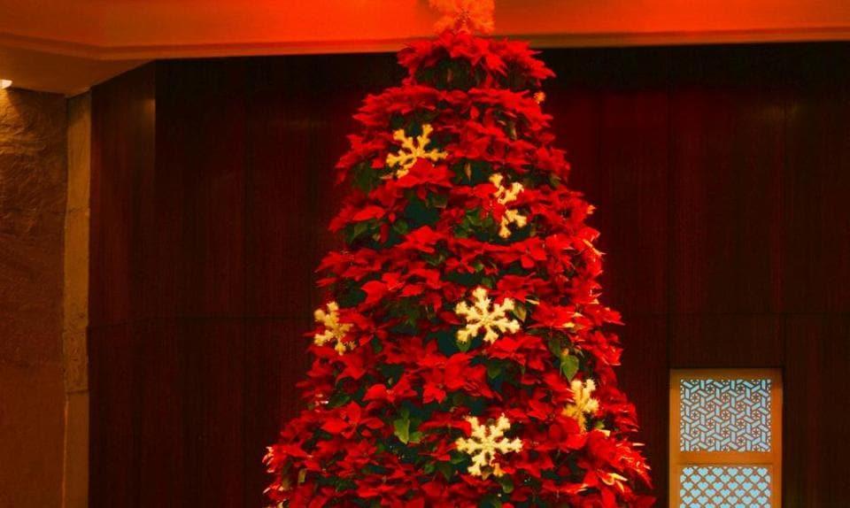 Le Meridien,Delhi,Christmas