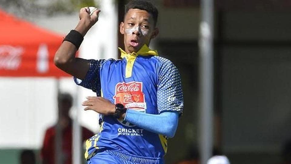 Makhaya Ntini,Thando Ntini,2018 Under-19 Cricket World Cup