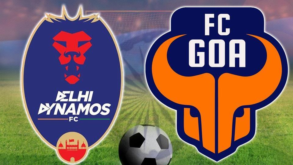 Indian Super League,ISL live,Delhi Dynamos FC vs FC Goa