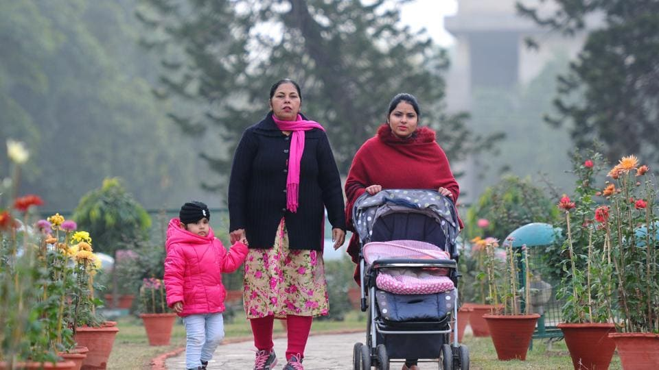 At 13°C, Chandigarh saw the coldest day of season on Friday. (Anil Dayal/HT)