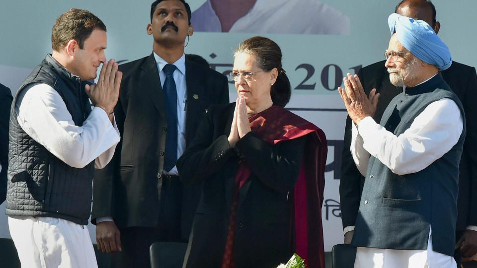 Image result for 3.	Sonia Gandhi hopes that Congress leaders would work with Rahul Gandhi