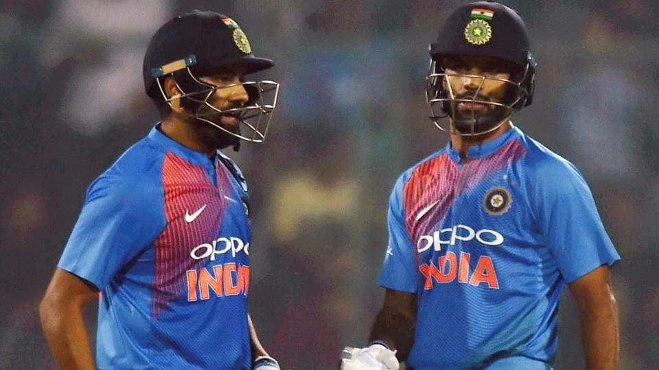 India vs Sri Lanka,Shikhar Dhawan,Rohit Sharma