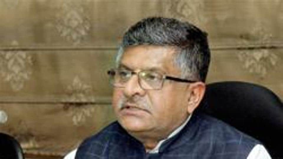 IT minister Ravi Shankar Prasad said right of non-discriminatory access to internet is not negotiable.