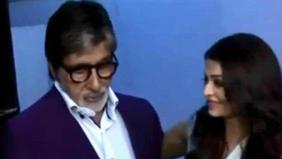 Amitabh Bachchan,Aishwarya Bachchan,Aaradhya Bachchan