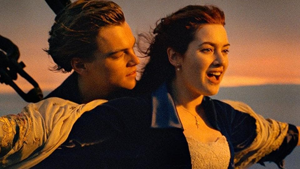 Leonardo DiCaprio and Kate Winslet played the lead roles in Titanic.