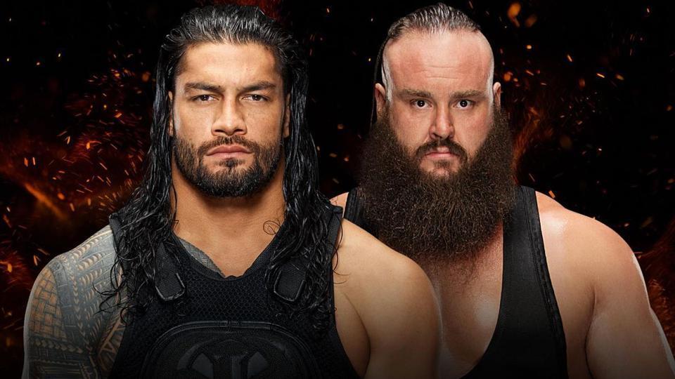 Roman Reigns,Braun Strowman,WWE
