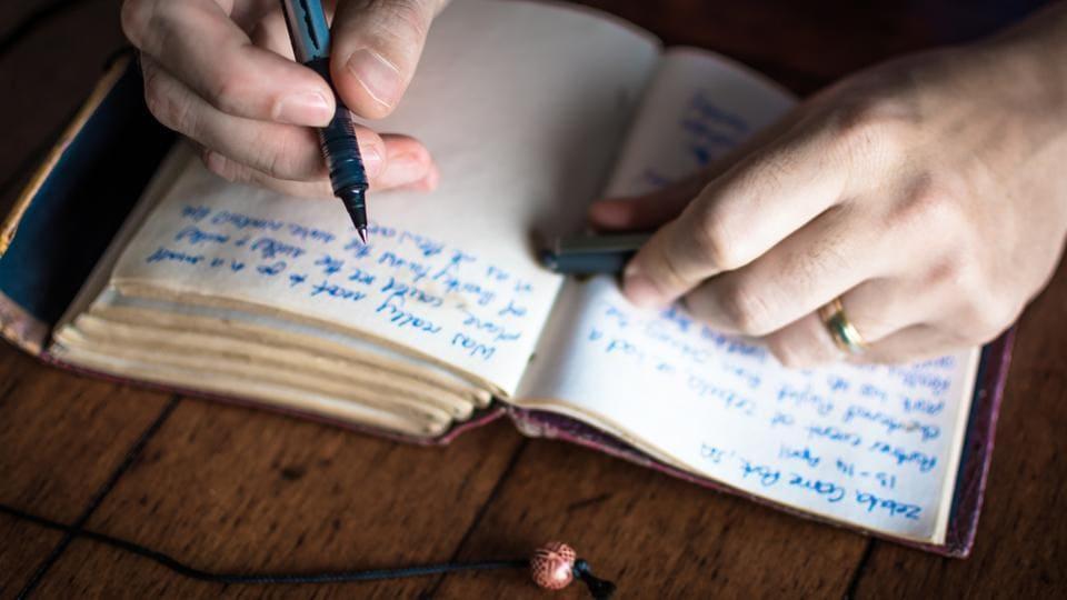 Regular journaling can help people donate more.
