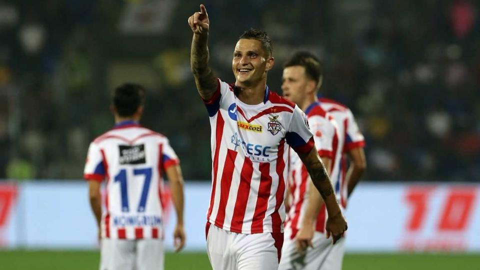 Zequinha, scored the sole goal in the 54th minute for ATK. (ISL)