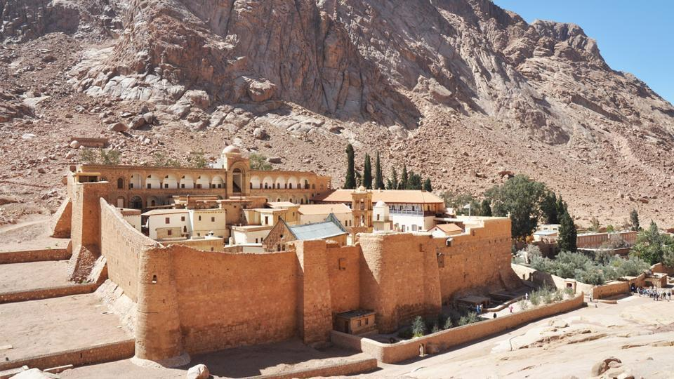The monastery contains the world's second largest collection of early codices and manuscripts, outnumbered only by the Vatican Library.