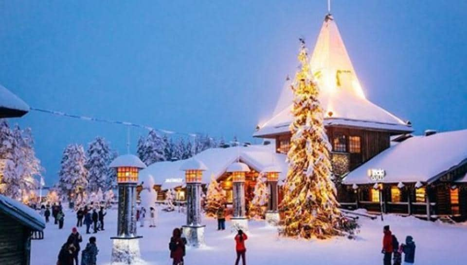"Since 2010, Rovaniemi, the capital of Finnish Lapland, has marketed itself as Santa's ""official home""."