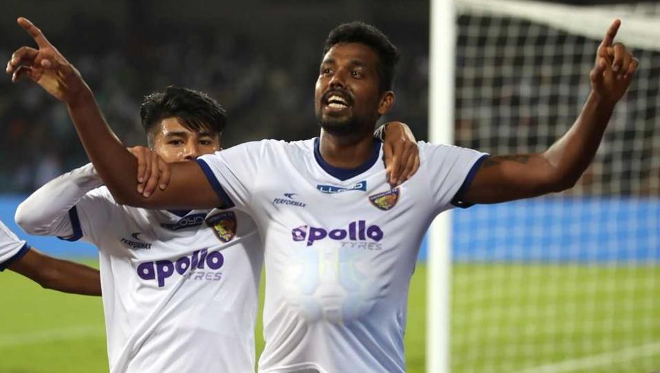 Chennaiyin FCdefeated Bengaluru FCin their Indian Super League encounter. (ISL)