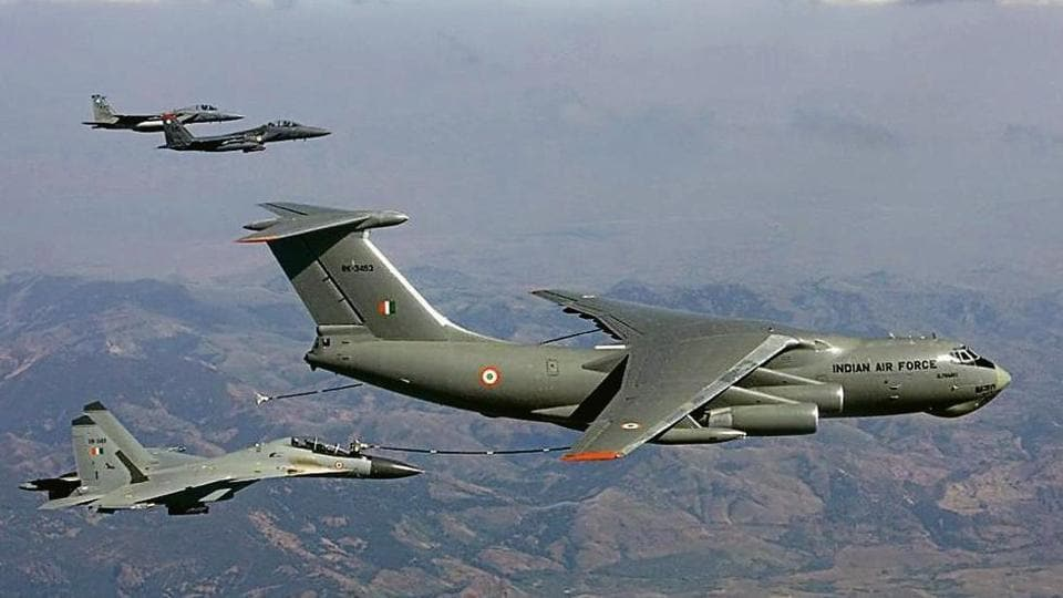 IAF's mid-air refuelling fleet to take a hit as numbers fall - india news -  Hindustan Times