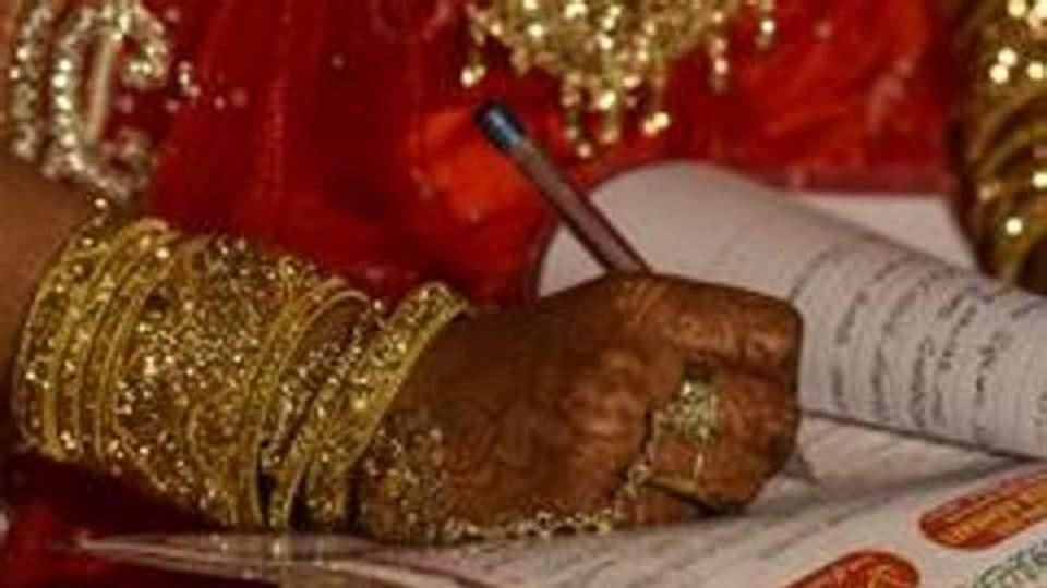 Tariq and Sumaya Bashir, teachers of Muslim Educational Institute of Pampore, got married recently and were sacked on the day of their wedding.