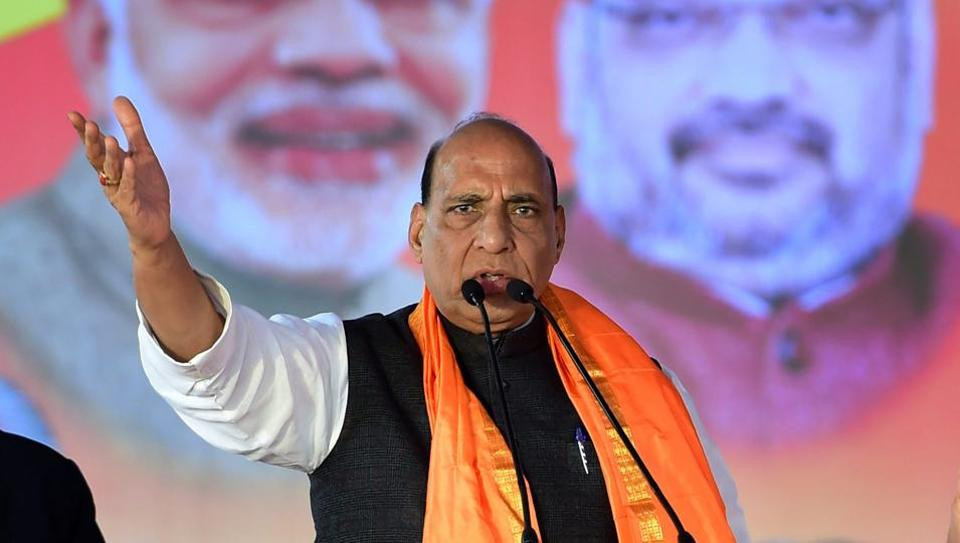 Rajnath Singh,Karnataka assembly polls,Siddaramaiah