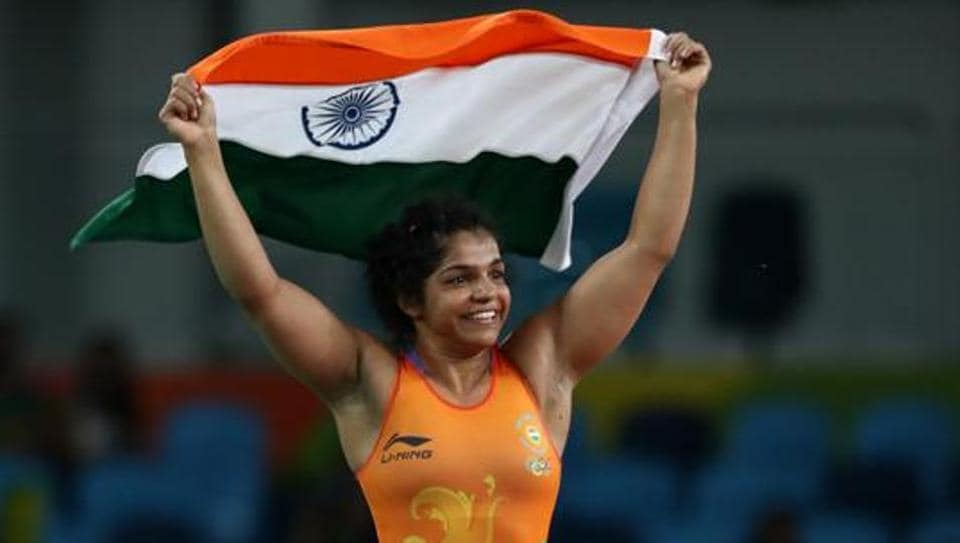 Sakshi Malik won the gold medal at the Commonwealth Wrestling Championship.