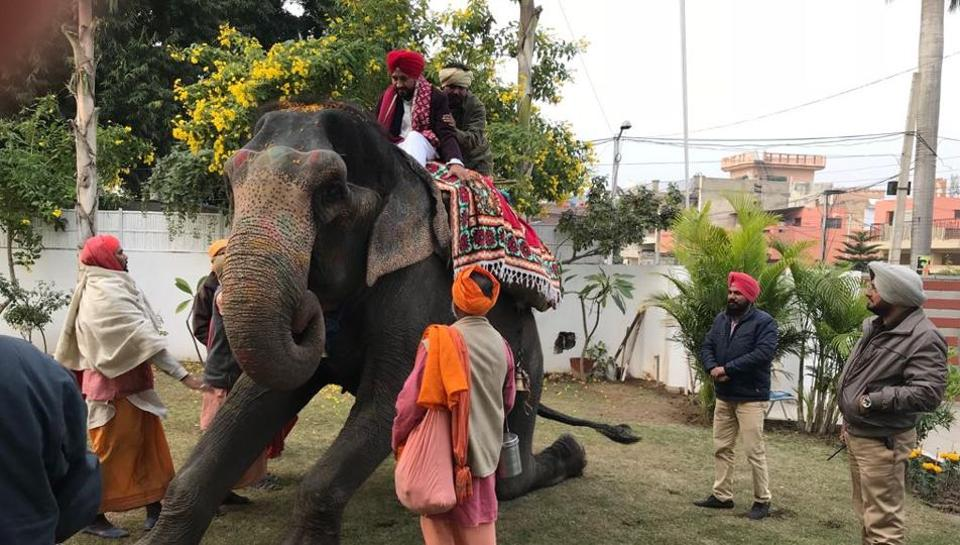 Charanjeet Channi,jumbo ride,Capt Amarinder