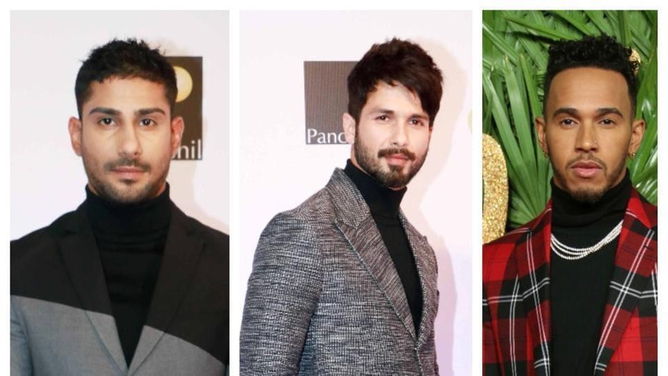 Varun Dhawan,Shahid Kapoor,Turtle neck