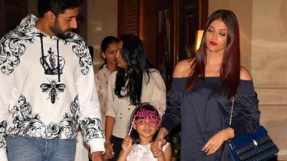 Aaradhya performed at her annual school function and her parents Aishwarya Rai and Abhishek Bachchan were in attendance.