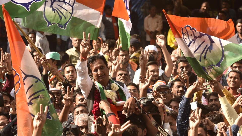 Gujarat assembly elections,Assembly election results,Congress