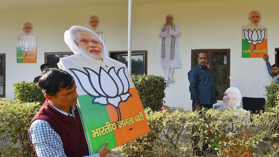 Gujarat election result,Modi's hometown,BJP