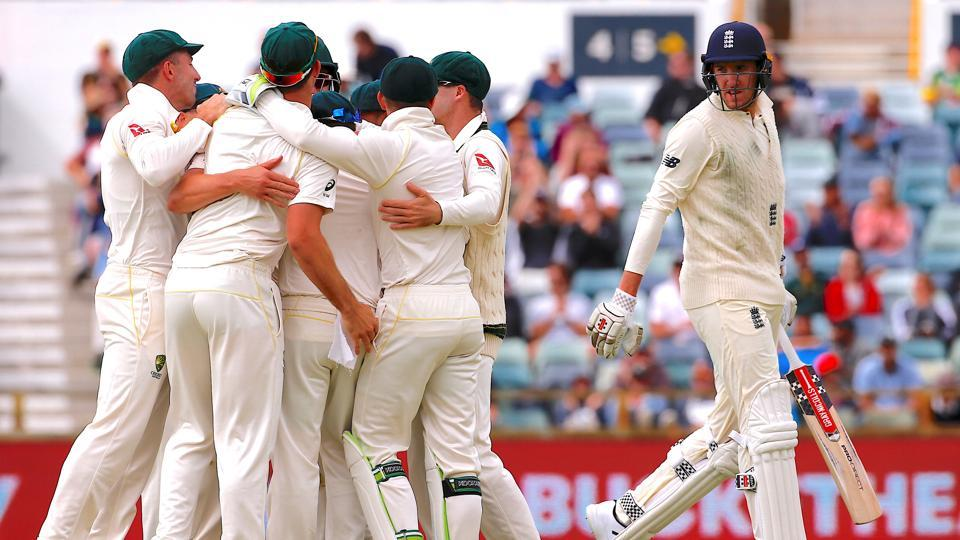 Australia thrashed England by an innings and 41 runs in the third Test in Perth to reclaim the Ashes with two matches to spare and condemn Joe Root's team to a period of gloomy introspection.