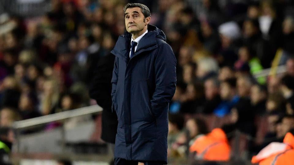 F.C. Barcelona,Ernesto Valverde,La Liga